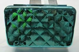 Blue Quilted Electro Pencil Box Case Kids School Art Craft Organizer - $11.99