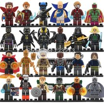 24pcs/set Marvel Avengers Infinity War Groot Stan Lee Tony Pepper Minifigures - $35.99