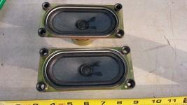 "7BBB16 Pair Of Sony Tv Speakers, 1-529-638-11, 4 Ohm 12 Watt, 4-1/2"" X 2"" Nom - $19.57"