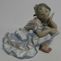 """Lladro """"Deep in Thought"""" Porcelain Figure, #5389 - $397.38"""