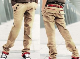 2018 New Hot Sale Man Khaki Slim Pants Casual Fashion Men's Casual Trousers - $34.68