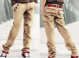 2018 New Hot Sale Man Khaki Slim Pants Casual Fashion Men's Casual Trousers - $34.68