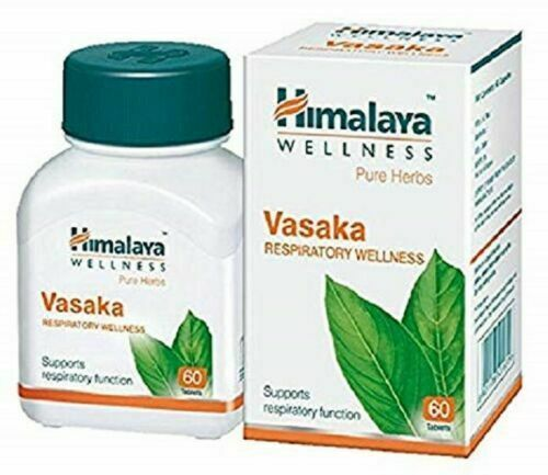 Primary image for Himalaya Herbal Vasaka Productive Cough Bronchitis Bronchial Asthma 2X60 Tablets
