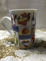 Vintage Masterpiece Collection Coffee Mug Cows Eggs Milk Wine - $9.00