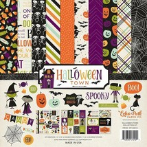 "Echo Park ""Halloween Town"" Scrapbooking Collection Kit - 12 x 12"""