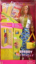 Barbie Secret Messages Barbie School Locker w/locker & Stampers 1999 Nib - $52.03