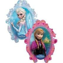 Disney Frozen Super Sized Shaped Foil Mylar Balloon Mirror Style 1 Per Package - $6.19