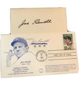 1989 Joe Sewell FDC Autographed Cover W/ Autographed Card - $57.82