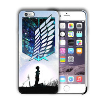 Attack on Titan Eren Yeager Iphone 4 4s 5 5s 5c SE 6 6s 7 + Plus Case Co... - $14.99