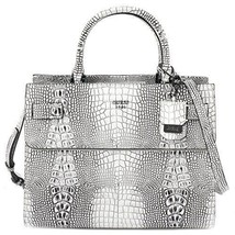 GUESS Handbag Bag For Women Synthetic Leather Natural Anniversary Birthd... - $91.56