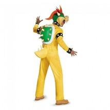 Disguise Super Mario Bros Bowser Deluxe Pfirsich Erwachsene Halloween Kostüm image 2