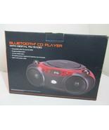 Blackweb BWA17AA003 Bluetooth CD CD-R/RW Player Boombox With FM Radio Re... - $24.99