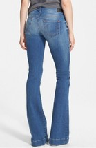 New Womens True Religion Brand Jeans 24 NWT Charlize Flare USA Bell Blue - $112.00