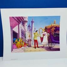 Walt Disney Store lithograph poster print litho 14X11 Cinderella Prince ... - $17.25