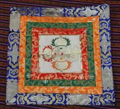 Tibetan high quality silk brocade dorje design altar cloth /table /shrin... - $24.75