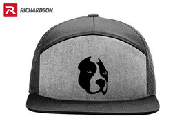 BIT BULL  K9 DOG RICHARDSON FLAT BILL SNAPBACK HAT *FREE SHIPPING BOX* - $19.99