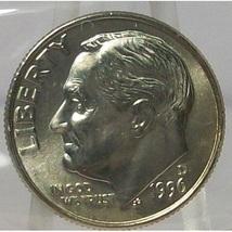 1996-D Roosevelt Dime GEM BU MS65 in the Cello #765 - $1.59
