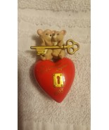 """1995 Hallmark Keepsake Ornament """"Our First Christmas Together"""" Heart and... - $5.93"""