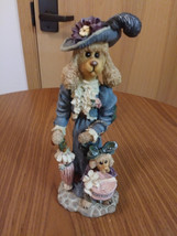 Boyds Bear Folkstone Collection 1998 #2875 Poodle Dogs Handmade China image 1
