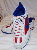 Nike Air Trainers Sneakers Athletic Shoes 11 Mens Red White Blue Patriotic - $96.66