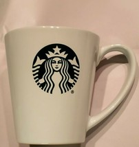 Starbucks 9.63 oz Coffee Mug from 2017 White Green Mermaid Siren Logo  - $18.69