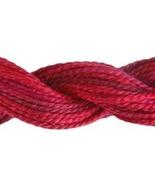 Radiant Ruby (4210) Variations Pearl #5 27 yd skein 100% cotton DMC - $2.54