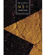 1992 Mazda MX-3 sales brochure catalog 2nd Edition US 92 GS V6 - $8.00