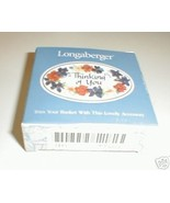 Longaberger Basket Thinking Of You Friendship Love Pottery Tie On New In... - $7.87
