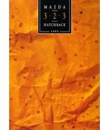 1992 Mazda 323 sales brochure catalog US 92 SE - $6.00