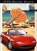 1996 Mazda MX-5 MIATA sales brochure catalog US 96 - $10.00