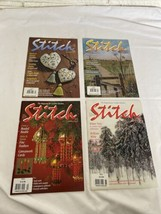 Lot Of 4 Stitch Magazines Printed In England Year 2003-2004 Very Good Co... - $24.49