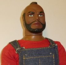 "Vintage 1983 Galoob A Team TV show MR T B.A Baracus action figure doll 12"" - $44.99"