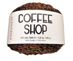 Premier Coffee Shop Yarn in Sundown, Light Weight 3 image 1