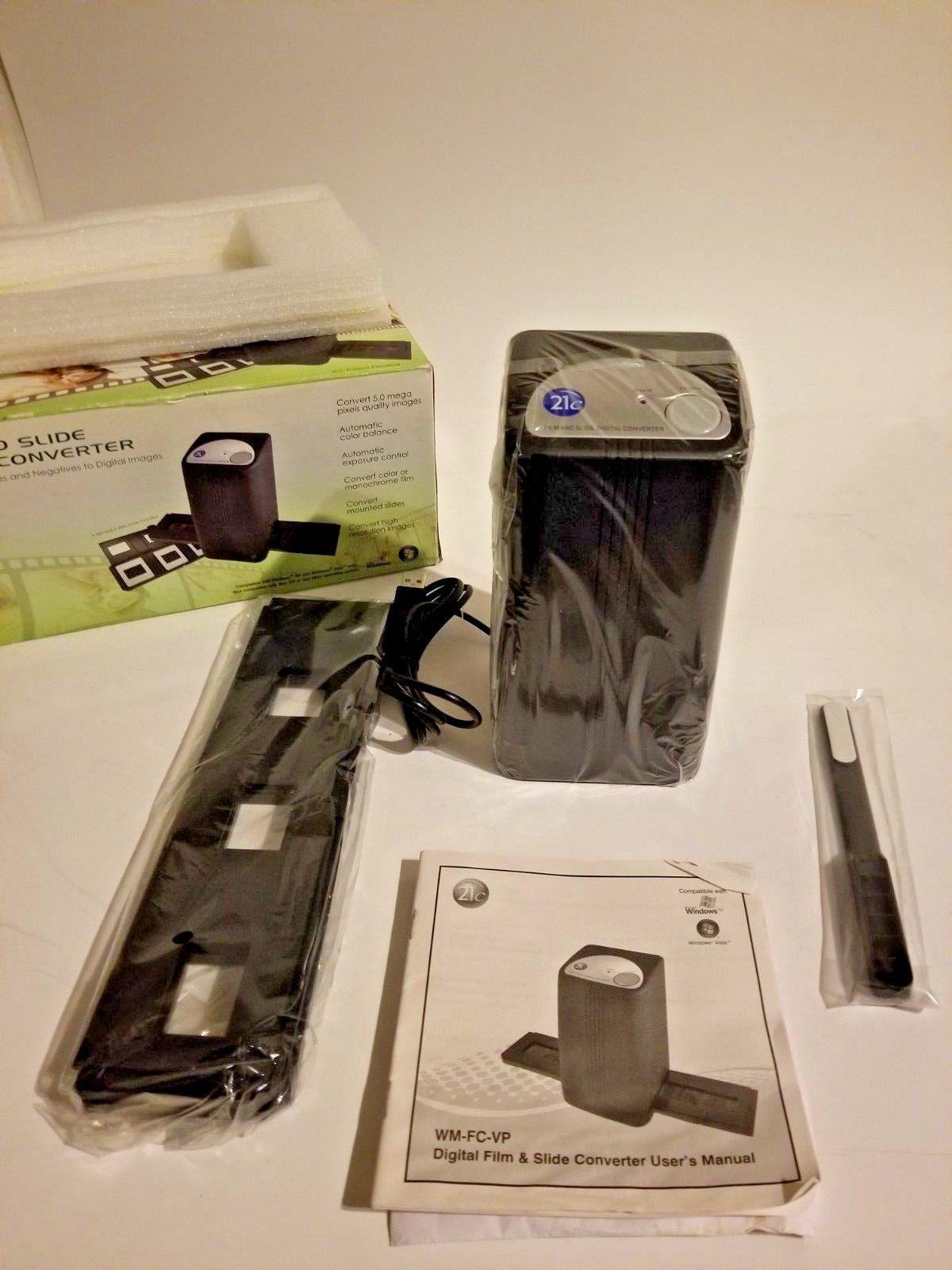 21C Film and slide digital converter