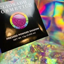 NWT NIB Clionadh Cosmetics JEWELLED MULTICHROME SINGLE PAN *ONE SHADE* Gothic image 3