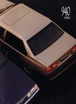1991 Volvo 940 SEDAN brochure catalog US 91 SE GLE Turbo - $10.00