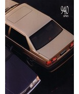 1991 Volvo 940 SEDAN brochure catalog US 91 SE GLE Turbo - $10.00