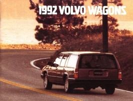 1992 Volvo WAGONS brochure catalog US 92 240 740 940 960 - $8.00