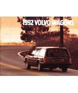 1992 Volvo WAGONS brochure catalog US 92 240 740 940 960 - $8.00