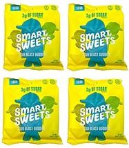 Stevia Sweetened Sour Buddies Gummy Vegan & Gluten Free Candy Low Sugar, Low Car