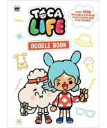 Toca Life Doodle Book (Toca Boca) Poster, Play Scenes, 1000+ stickers NE... - $8.25