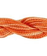 Bonfire (4124) Variations Pearl #5 27 yd skein 100% cotton DMC - $2.54