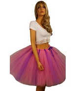 Fluffy Pink and Purple Tutu - Available in Adult and Child Sizes - $20.00+