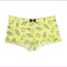 Jenni Ice Cream Print Ruffle Hem Pajama Boxer Shorts, XXL - $8.80