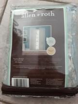 "allen + roth Florence Cream Rod Pocket Panel 40"" x 95"" - $32.68"