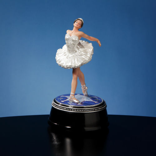 San Francisco Music Box Swan Lake Ballet Figurine