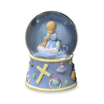 San Francisco Music Box Bedtime Prayers Boy, Rotating - Water Globe - $46.25