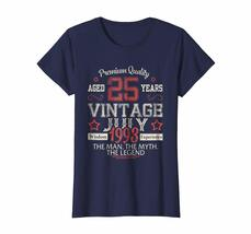 Brother Shirts - Vintage Legends Born In JULY 1993 Aged 25 Years Old Being Wowen image 3