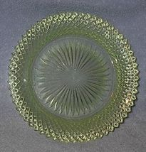 Depression Glass Miss America Pattern Green Dessert Plate 6 3/4 - $12.00