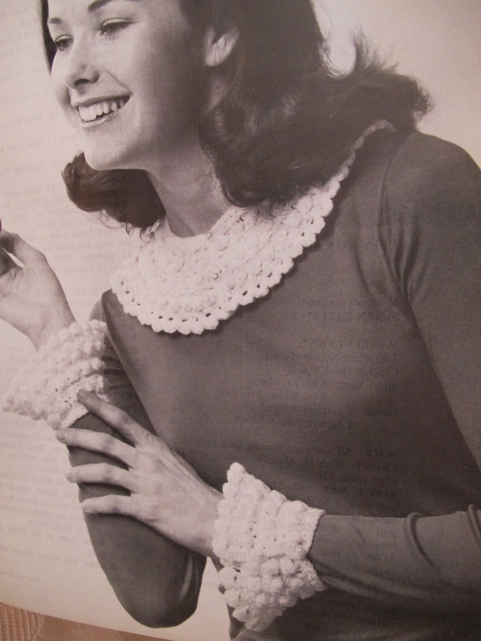 Vintage JIFFY LACE Knitting Crochet Patterns FAMILY Cape Afghan Dress Shawl etc.
